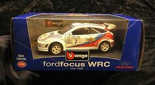 Burago Bijoux Collection Ford Focus WRC in 1/24