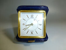 Swiss Vintage Jaeger Lecoultre Memovox Alarm Clock Luxury Gold Gilt Rare Model