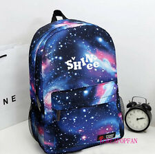 SHINEE taemin onew minho jonghyun key BAG BACKPACK SCHOOLBAG BLUE KPOP NEW