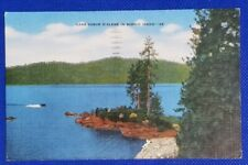 1948 Vintage Post Card: Lake Coeur D'Alene in Scenic Idaho-35