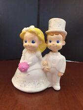 2002 Fisher Price Mattel Plastic Wedding Couple Cake Topper HTF!