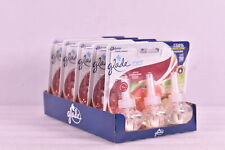 Lot Of 5 Glade Plug Ins 3 - Pack Scented Oil Apple Cinnamon (15 Total Reflls)