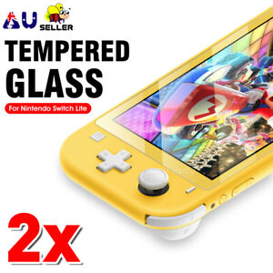 2x Tempered Glass Screen Protector Film Guard for Nintendo Switch Lite Console