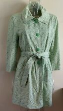 Women's Only Lime/Yellow Button Down MARGERIT Dress Coat Size XL