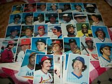 1980 Topps Baseball 5x7 Superstar Photos complete set - 60 cards