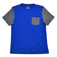 Alfani Mens T-Shirt Slim Fit Crew Neck Pocket Tee Short Sleeve Top M New Nwt