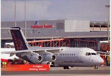 AK-CARTOLINA: Brussels Airline bae146