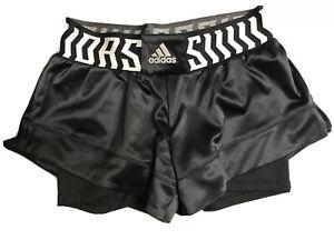 NWT Adidas TKO 2-in-1 Training Shorts - Medium (FJ7134) High Rise Black