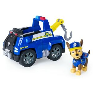 Paw Patrol - Chase's Tow Truck - Figure and Vehicle
