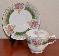 RARE Vintage Copelands Grosvenor China Teacup, Saucer Chatsworth Pattern A255
