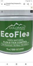 EcoFlea Colorado Dog all Natural 120 Soft Chews Chewable Garlic Flea Tick 9oz