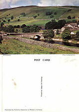 1980's KETTLEWELL UPPER WHARFDALE YORKSHIRE UNUSED COLOUR POSTCARD