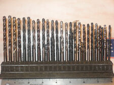 """New listing Vintage """"Rare""""Cleveland Twist Drill Co.Drill Index w/Drills Numbers 1-60 Size"""