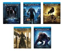 New Sealed Resident Evil Steelbook Lot 1 2 3 4 5 Blu-ray + Digital HD 1-5