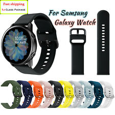 For Samsung Galaxy Watch Active 2 40/42/44mm Silicone Sport Band Bracelet