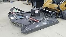 """Bradco Shark Brushcutter for Track Loaders, High Flow, Cut  7"""" Trees,5 In Stock"""