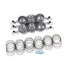VR6 3.6L Engine Pistons & Piston Rings Kit Fit For VW Atlas Passat AUDI Q7