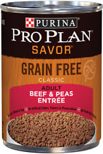 Purina Pro Plan Savor Grain-Free Classic Beef And Peas Entree Adult Wet Dog -