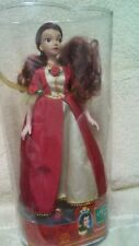 Disneys Beauty and The Beast Christmas Belle Doll Applause Mint New Never Opened
