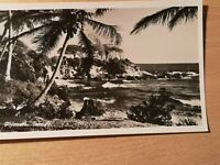 Real Photograph Postcard - PLYMOUTH TOBAGO - Unposted