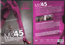 MS .45 / MS.45 (1981) DVD, NEW!! Abel Ferrara, Zoe Lund