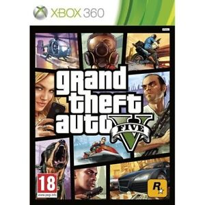 GTA 5 Xbox 360 GRAND THEFT AUTO V 5  VERY GOOD XBOX 360 1st Class FAST Delivery