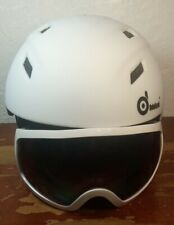 Odoland Snow Ski Helmet and Goggles Set Size Medium ASTM F2024 & CE EN1077 New