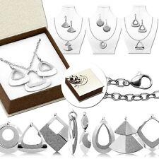 Ohhringe Halskette Collier Langkette Damen Mit Etui Geschenkverpackung Hänger