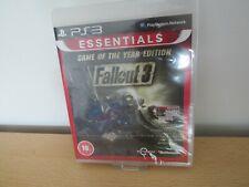 PS3 Fallout 3 Game of the Year Edition  UK Pal,  New Factory Sealed