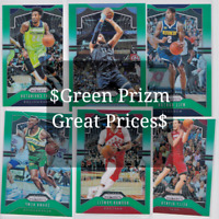 2019-20 Panini Prizm Basketball Green Cards 1-300 COMPLETE YOUR SET! You Choose!