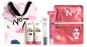 No7 RESTORE & RENEW FACE & NECK MULTI ACTION COLLECTION 5 PIECE GIFT SET