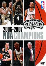 NBA SAN ANTONIO SPURS 2006-2007 NBA Champions DVD DEUTSCH NEU