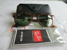 Ray Ban brown frame sunglasses. With case. RB 2168 1287/14 Meteor. New.