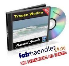 CD VERSAND TROPEN WELLEN Audio MP3s  NATURGERÄUSCHE Nature Sounds 1 Neu E-Lizenz
