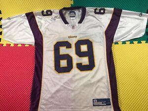 Jared Allen Minnesota Vikings #69 Reebok On Field White Jersey Men's Size XL