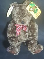 Animal Adventure Inc Brown Plush Teddy Bear-Fully Jointed Bear -New With Tags
