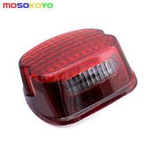 Red LED Brake Taillight Lamp For Harley Dyna Electra Glide FXD FLHT FLTR FLHX