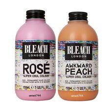 Bleach London Super Cool Colour - Rose 150ml + Awkward Peach 150ml