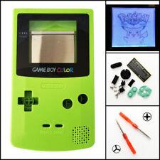 GBC Nintendo Game Boy Color Frontlit Frontlight Front Light Mod Kit Kiwi Green