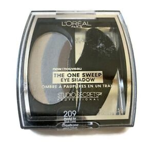 L'Oreal Studio Secrets The One Sweep EyeShadow #209 NEW and Sealed