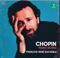 Chopin Piano Works box CD NEW Francois-Rene Duchable