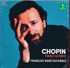 Chopin Piano Works box CD NEW Francois-Rene Duchable