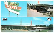 Roadside America Postcard Nugget Motel Boardman Oregon OR Old Sign Cars Post