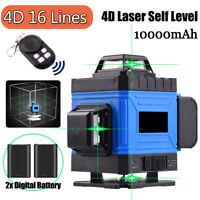 3D 360°Kreuzlinienlaser 16 Line Laser Level Cross Grün Line Laser Self Leveling