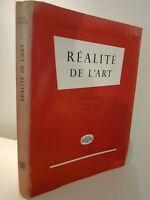 Realidad ARTE F. Rouge&cie Lucien Schwob 1954 Lausanne Grabado en Frontispicio