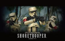 Shoretrooper modelo kit 1/12 de Bandai, Star Wars: Rogue One, scarif Trooper