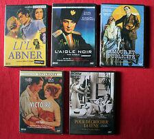 Lot de 5 DVD  NEUFS - Cinéma muet —L'aigle Noir, Li'l Abner, Victoire, Amour et