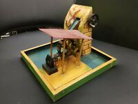 Marklin Hand-Painted Tinplate Scenic Water Mill Mechanical Toy, Germany, 1920