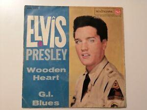 "45 giri 7"" Elvis Presley 45N 1150 Wooden heart / G. I. Blues"