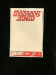 Guardians 3000 #1 Blank Sketch Cover Variant